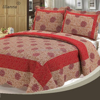 factory directory wholesale indian silk knit bedspread quilted