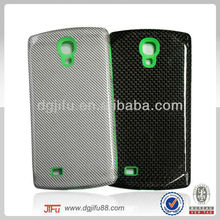 Carbon Fiber Fancy Cell Phone Cover Case for Samsung Galaxy S4 Case