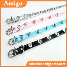 new products on china market pearl pet collar supplier