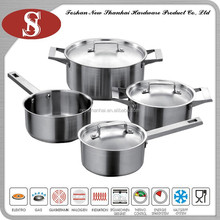 Wholesale stainless steel 7pc cookware set