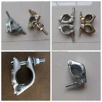 High Quality Forged Scaffolding Fixed / Right Angle / Swivel Coupler / Clamp