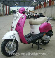 China made pink 49cc gas motor scooter