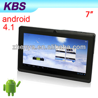 Fashionable Design 7 Inch Firmware Android 4.1 MID
