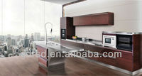 304/316 stainless steel kitchen cabinet-X001