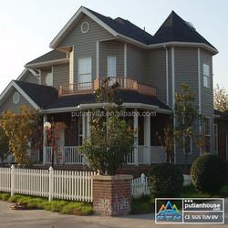 Energy Saving Modular Prefab Luxury Steel Frame House