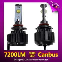Motorcycles LED, V16 Turbo LED 55W led replacement bulbs for cars
