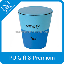 PU cup shape stress toy foam ball toys cup kids toy tea cup with logo