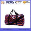 Fashion Chevron sport duffle bag Waterproof high quality tote travel bag
