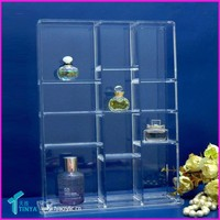 Wholesale Clear Beauty Store Promotional Perfume Display Rack Plastic Acrylic Essential Oil Display Stands/Rack/Shelf