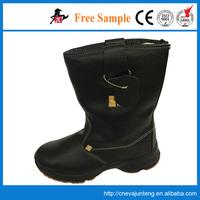 Custom winter white genuine leather knee boots