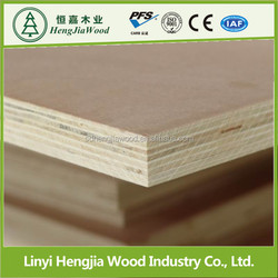 Decotative grooved plywood,tongue and groove paper overlay plywood
