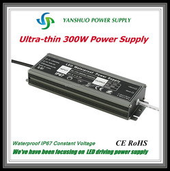 Shenzhen ultra slim LED dirver 300w 12v LED power supply used motorcycles usa