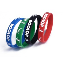 BPA free personalized energy silicone wrist bands promotion gifts