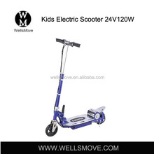 120w24v Hot Sale Cheap Flodable Kids Electric Scooters with CE Certificate