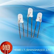 AlGaInP Material Chip 3mm Led Light Emitting Diode Blue