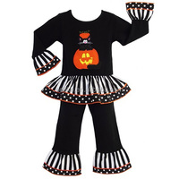 2015 name brand kids clothing halloween girls clothing import baby clothes