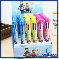 Hot sale direct ballpoint pen factory 6 color ball pen latest stationery items
