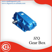 ZQ serial Soft gear surface cylinder speed reducer for Bucket wheel sand washing machine made in China