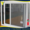 Modern design aluminum profile sliding window with mosquito screen with Australia standard