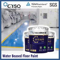 Water Based epoxy polyaspartic floor coating