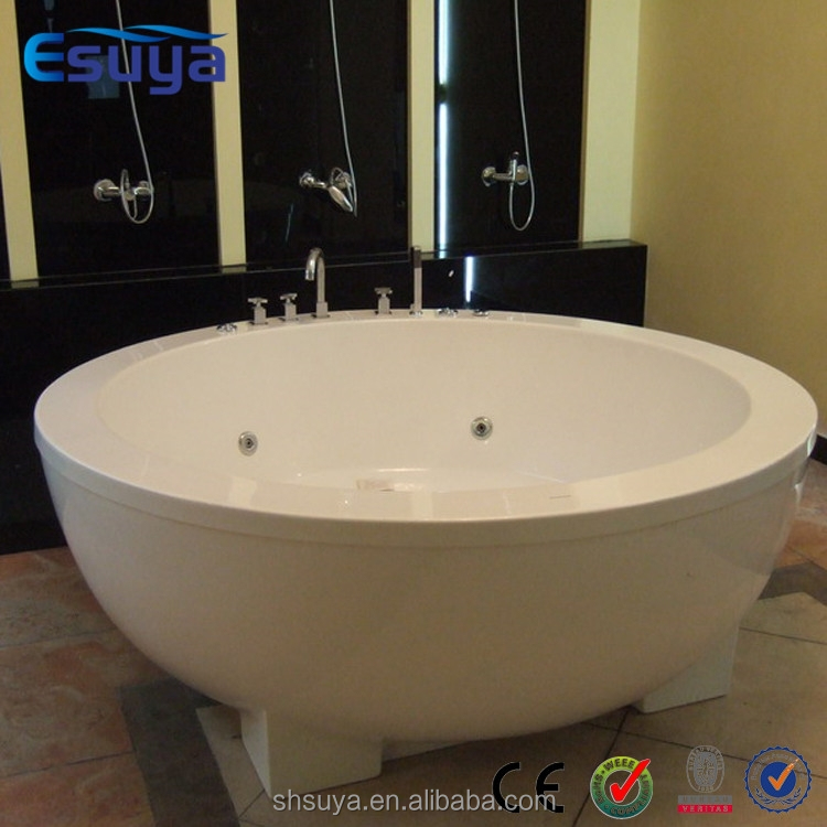 China hot bath tub artificial acrylic bathtub buy for Best acrylic bathtub to buy