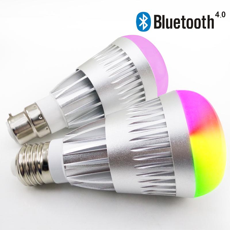Bluetooth led light bulb bluetooth smart led dimmable for Bluetooth controlled light bulb