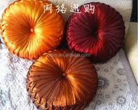 Pumpkin flower Sofa satin Decorative Pillow Cushion