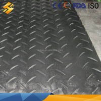 polyethylene portable roadway systems/1/2 polyethylene portable roadway/recycled polyethylene road plate