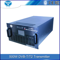 500w indoor dvb-t tv signal transmitter vhf/uhf frequency