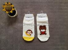 custom cartoon bear monkey lovely boy and girl socks