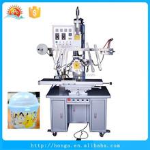 High efficency hydralic heat transfer machine for baby bottles, bottle printer machinery