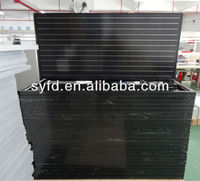 Black SolarWorld cell 250W Mono solar panel 156cell (TUV , MCS , CE , ROHS etc .)