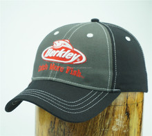 catch more fish cotton man hat with embroidery
