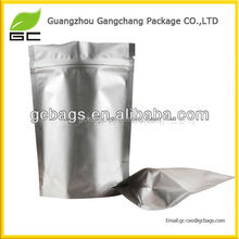 Simple stand up aluminimum seal bag for matcha, tea bags, or other dried food products.