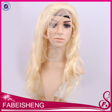 FBS 100% human hair glueless silk top full lace wig brazilian hair lace front wig