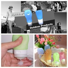 BPA free silicone travel sized products for shampoo