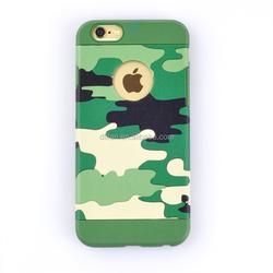 Shenzhen phone case Camouflage Cell Phone case For iphone6s plus 5.5 oem phone case for iphone 6s 5.5inch