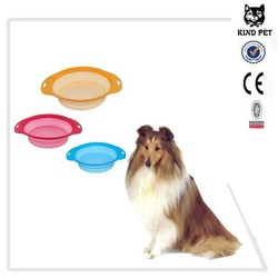 silicone dog bowl Collapsible Pet Bowl