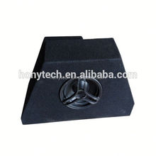 irregular shaped amplifier active 8 inch subwoofer box fit for golf 7 fans
