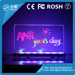 New Invention 2015 Best Led Writing Board High Tech Products Changeable Led Menu Board