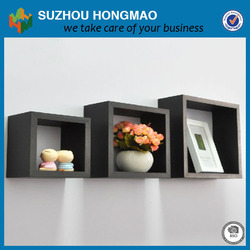 Modern design floating wall cube