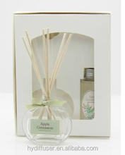Reed Diffuser with Fragrance Oil for Home in Glass Jar