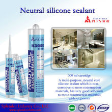high quality neutral curing silicone adhesive caulk