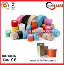 2.5cm elastic muscle therapy cotton kinesiology sports surgical waterproof sports tape