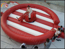 Gladiator duels/ Inflatable bucking redeo bull ride system/ Inflatable bull redeo