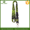Eco-friendly heat transfer lanyard with detachable buckle