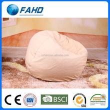 living room furniture tear drop shape round colorful bean bag sofa