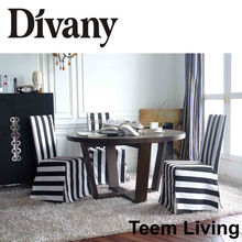 E-20 glass table style dining table for 6 seats desiner dining table