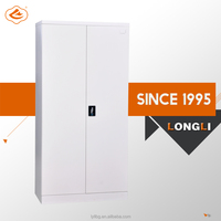180 Degree Open Door Powder Spraying KD Metal storage cabinet sale