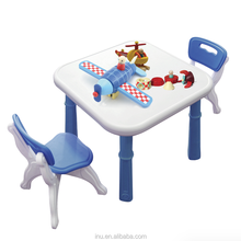 indoor plastic table garden traditional children table and chairs set in kingdom
